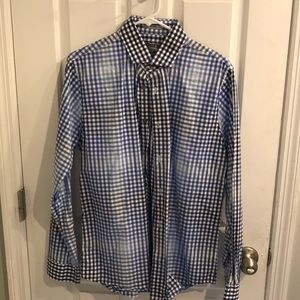 Express Fitted Button Down Medium
